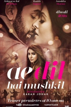 Watch Ae Dil Hai Mushkil Online